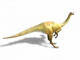Struthiomimus dinosaur 3d model