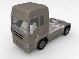Tractor unit 3d model