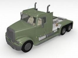Tractor-Trailer truck 3d model