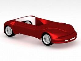 Car base concept 3d model