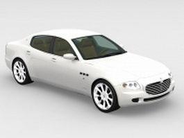Maserati Quattroporte 3d model