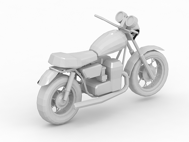 Sport Touring Motorcycle 3d Model 3ds Max Files Free