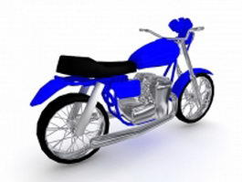 Racing motorcycle 3d preview