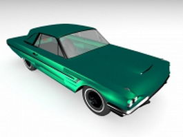 Classic coupe car 3d model