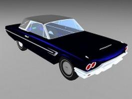 Hardtop convertible car 3d model