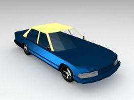 Hardtop sedan 3d model