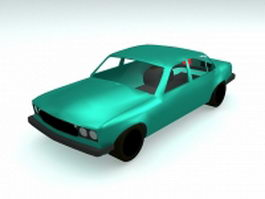 Classic car vehicle 3d model