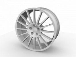 OZ superturismo wheel 3d model