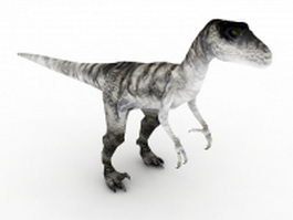 Deinonychus dinosaur 3d model