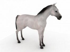 Oriental horse 3d model