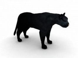 Panther leopard 3d model