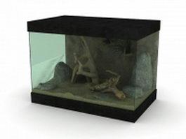 Reptile Terrarium 3d model