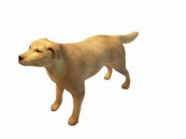 Broholmer dog 3d model