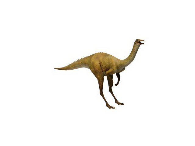 Apatosaurus dinosaur 3d rendering