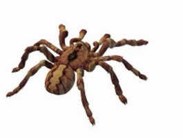 Huntsman spider 3d model