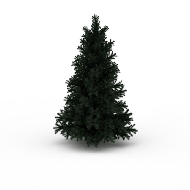 Evergreen Pine Tree 3d Model 3ds Max Files Free Download