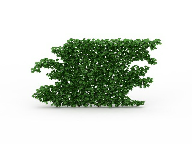 Green wall plants 3d model 3ds max files free download for Garden design in 3ds max