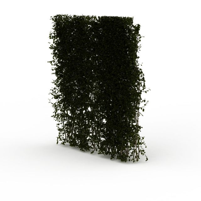 Green Screen Vine Wall 3d Model 3ds Max Files Free