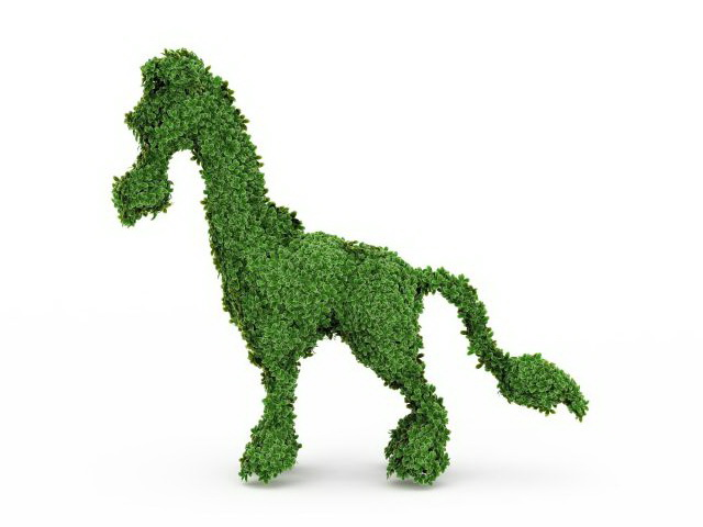Topiary horse frame 3d model 3ds max files free download - modeling ...