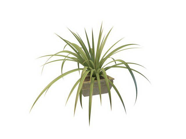 Grass-like indoor plan...