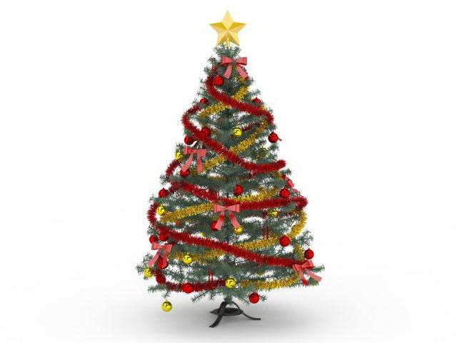Victorian Christmas Tree Ornaments