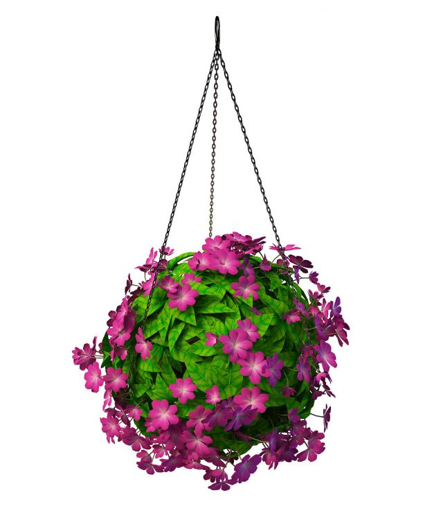 Hanging Flowering Plants 3d Model 3ds Max Files Free
