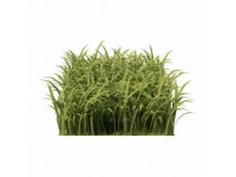 Piece of grass 3d model