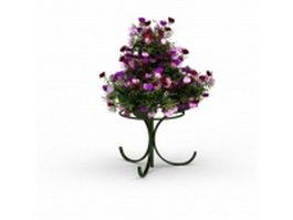 Flower pot stand 3d model