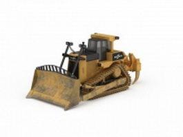 Track bulldozer 3d model