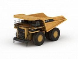 Biggest haul truck 3d model