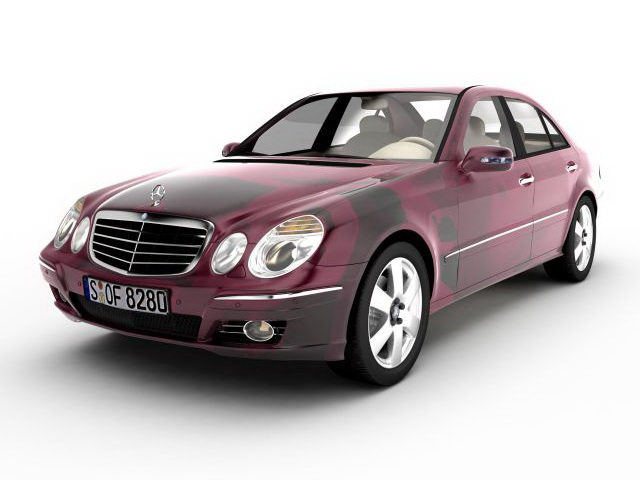 3dSkyHost: Mercedes Benz E-Class Sedan 3D Model