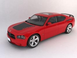 Dodge charger super bee 3d model