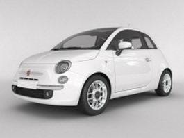 Fiat 500 sport 3d model