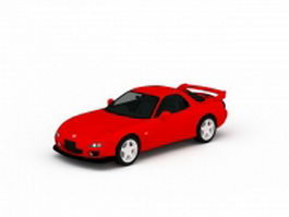Mazdaspeed RX-8 red 3d model
