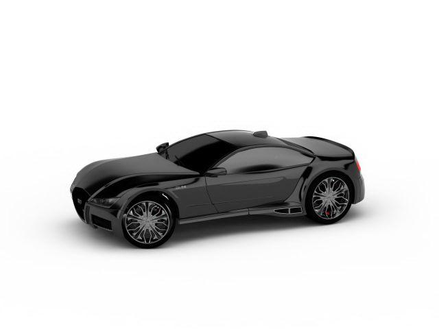 3dSkyHost: Audi concept car 3D Model