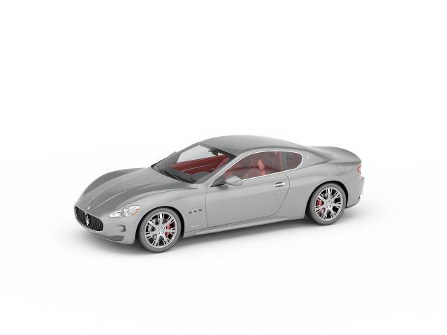 3dSkyHost: Maserati Alfieri concept 3D Model