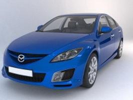 Mazdaspeed 3 hatchback 3d model