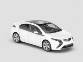 Opel Ampera hatchback 3d model