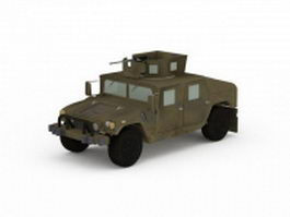 Up-Armored Humvee 3d model