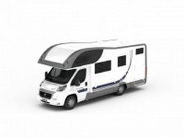 Fiat camper van 3d model