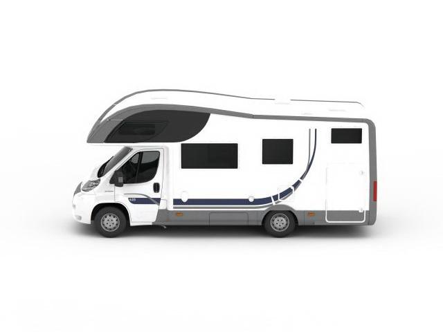 Fiat Camper Van 3d Model 3ds Max Files Free Download