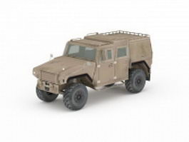 Mowag Eagle vehicle 3d model