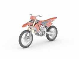 Off-Road Motorcycle 3d model