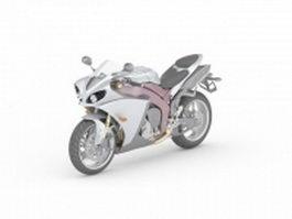 Sportbike concept 3d model