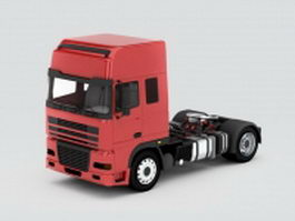 Tractor truck 3d model