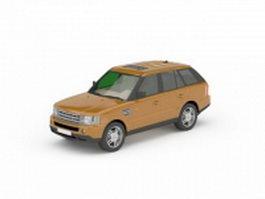 Range Rover Classic 3d model