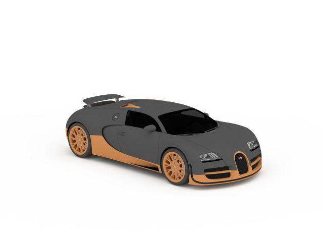 Bugatti Veyron Super Sport 3d Model 3ds Max Files Free Download
