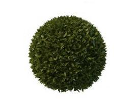 Topiary ball 3d model
