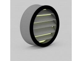 Bath heater light 3d model