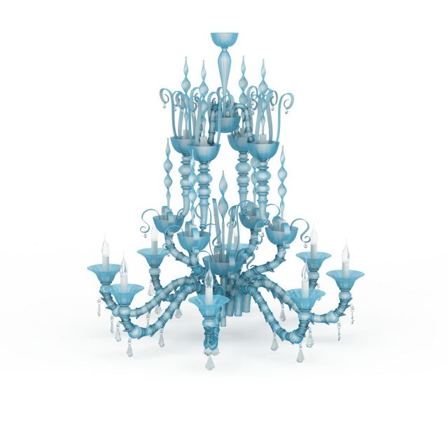 chandelier crystal sp clarion light chrome finish blue p sapphire